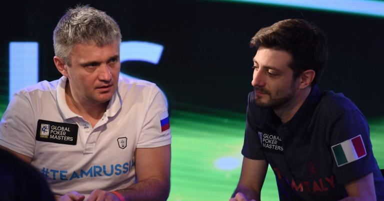 Global Poker Masters, Finals: Italy screwed Russia